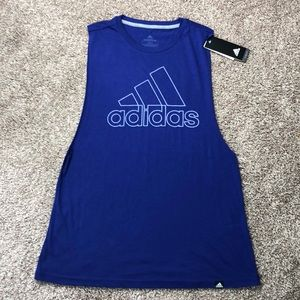 NWT Adidas Muscle Tank Top